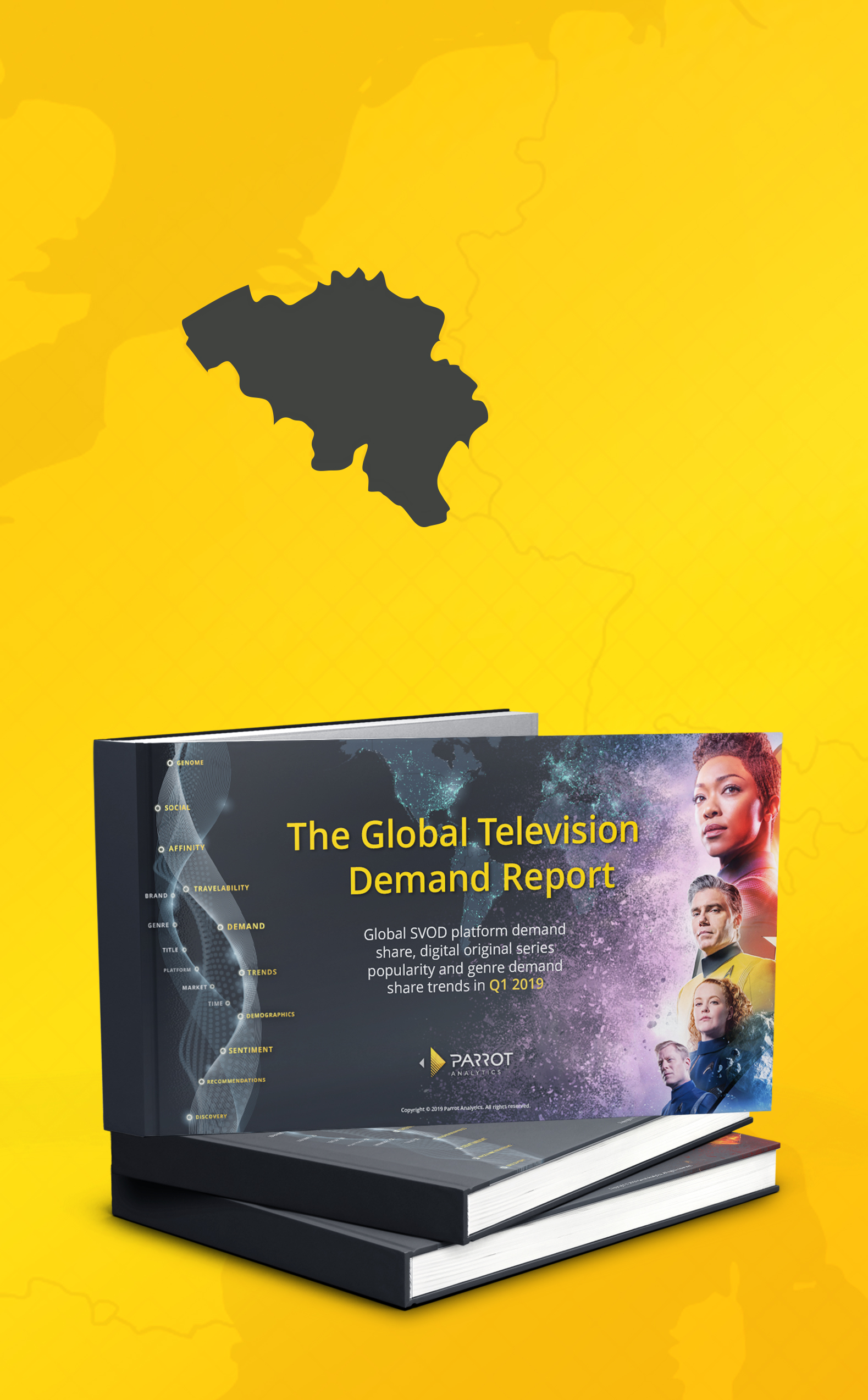The Belgium SVOD Market Demand Report 2019