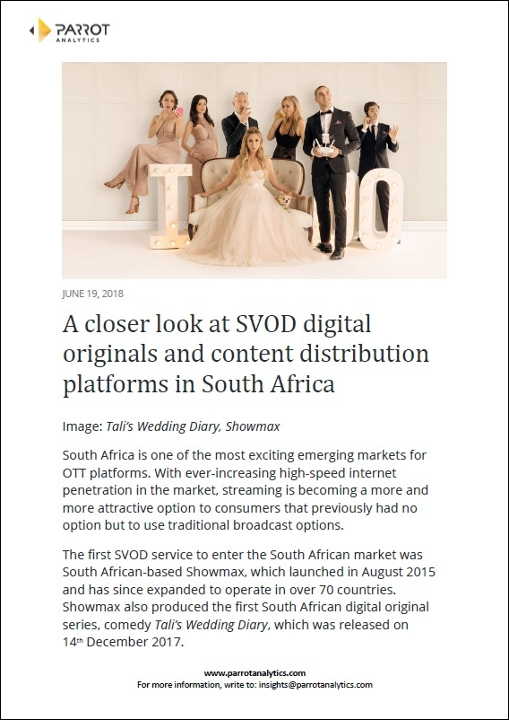 South Africa SVOD