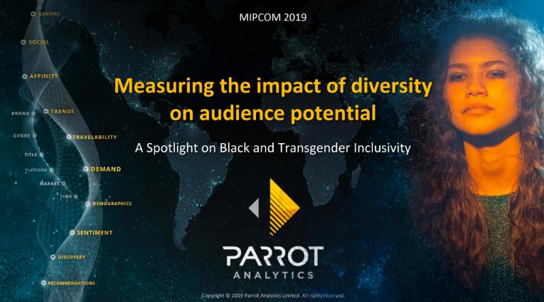 MIPCOM parrot analytics diversity presentation