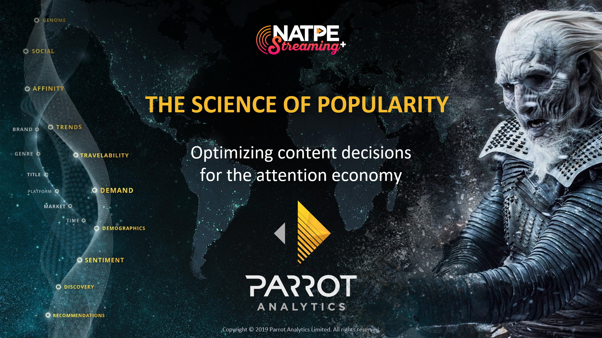 NATPE Streaming+ Keynote Presentation 2019
